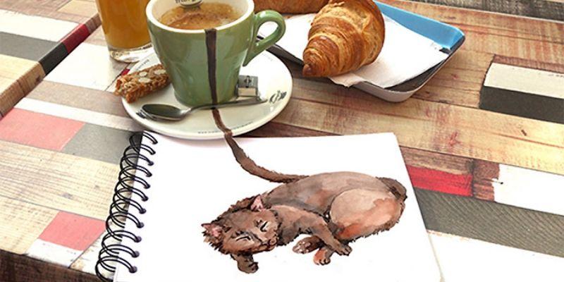 Kedi ve Kahve